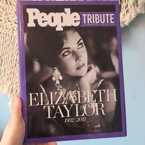 Elizabeth Taylor tribute magazine